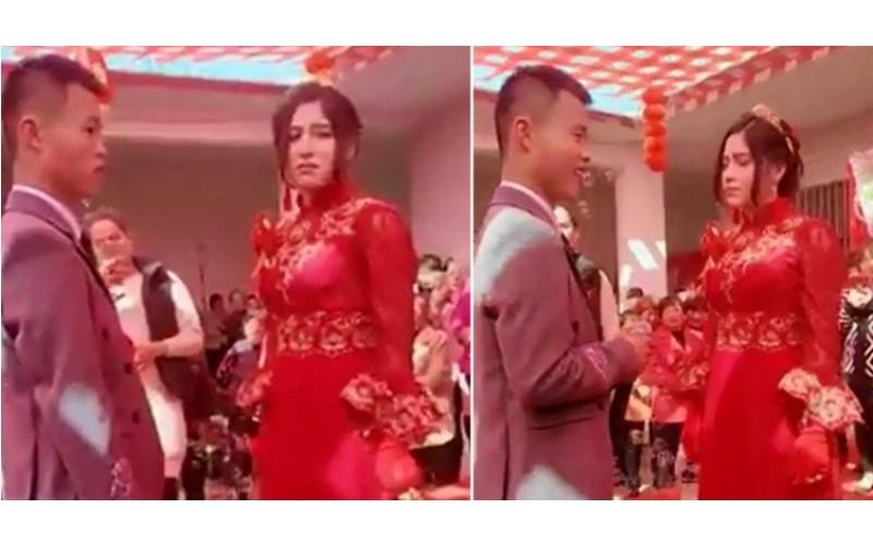 維吾爾族妹嫁中國男!整場婚禮卻表情扭曲快哭了... 遭爆「洗基因」救家人 (影)