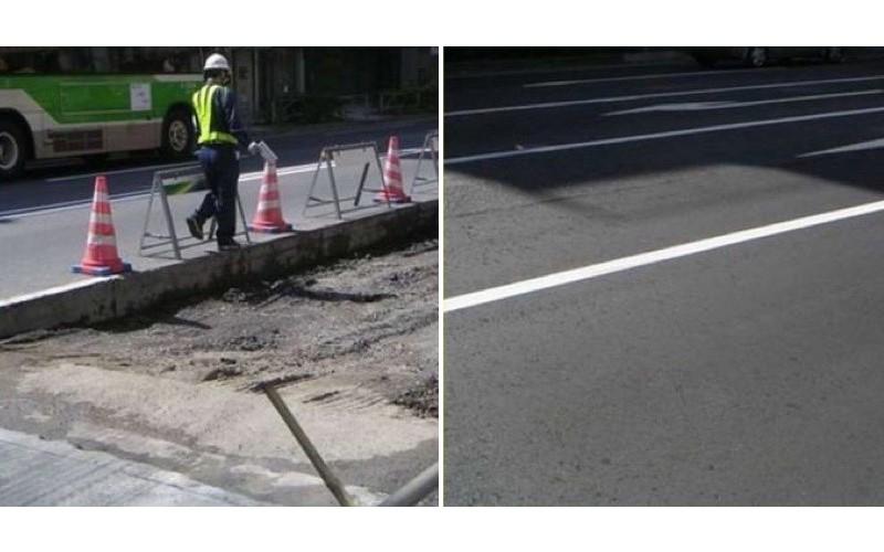 日本的馬路為什麼可以比台灣還要平整?看了他們「鋪路的手法」瞬間秒懂原因,這就是差距啊!