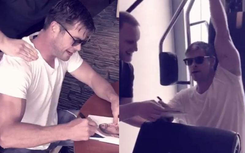 雷神索爾被嗆「簽名照不是親自簽的」!霸氣錄影證明「連洗澡也在簽」放福利粉絲樂歪
