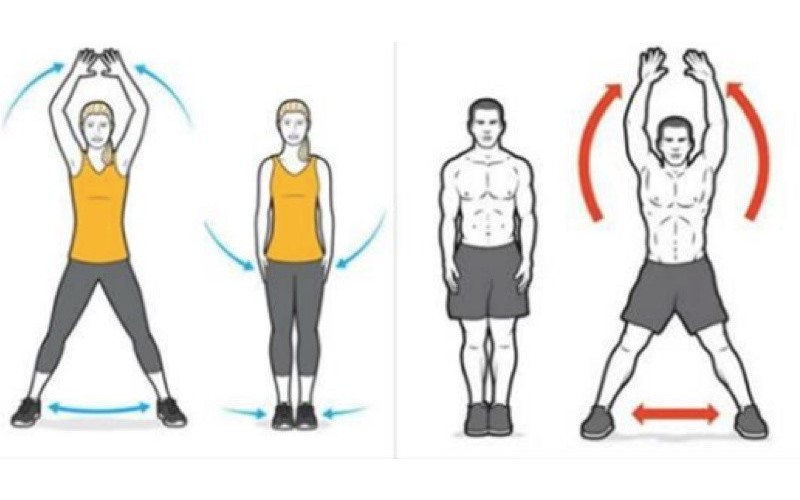 沒錢上「健身房」就來開合跳吧!堅持21天幫你燒光10斤重量...快讓全身脂肪顫抖吧!
