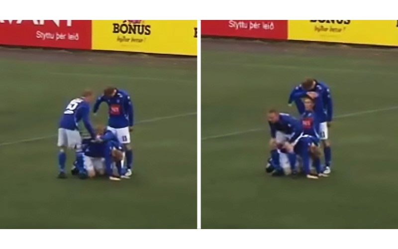 冰島隊慶祝進球「什麼招都有」 生小孩、上廁所…網友:一秒成冰島迷!