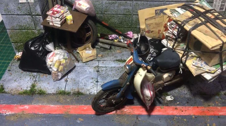 台灣神人「把世界縮小了」廢材變模型「神還原台灣街景」紅到日本網友跪:太變態!