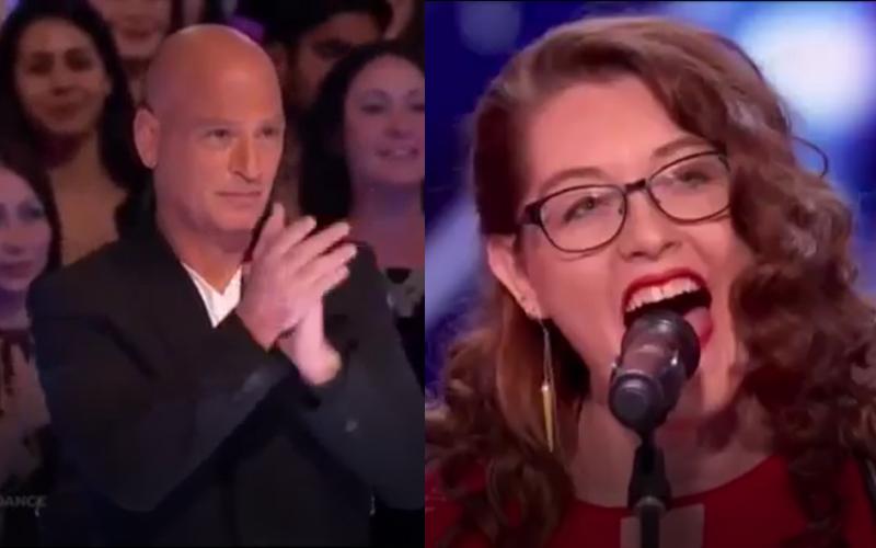 她宣稱只靠「地板震動節拍」就能唱歌,開口的瞬間秒讓底下評審觀眾「拍手叫好」!