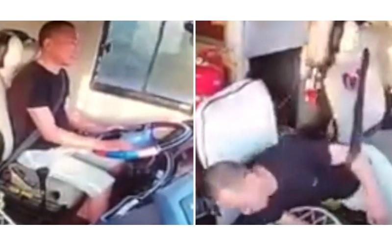 客運司機「連開17小時」突然中風 整個人倒一旁!乘客見狀立刻「衝上前」狀況超驚險...