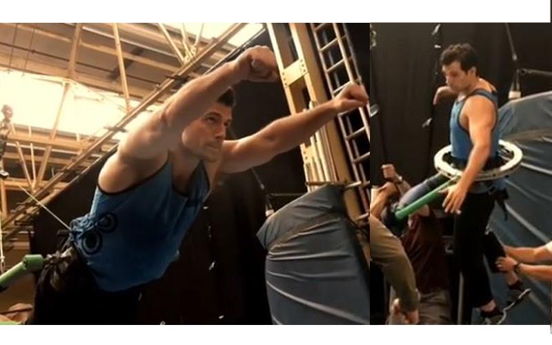 原來超人這樣飛!超人飛行畫面曝光「比吊鋼絲還難拍攝內幕」,正片空中決鬥超狂野!