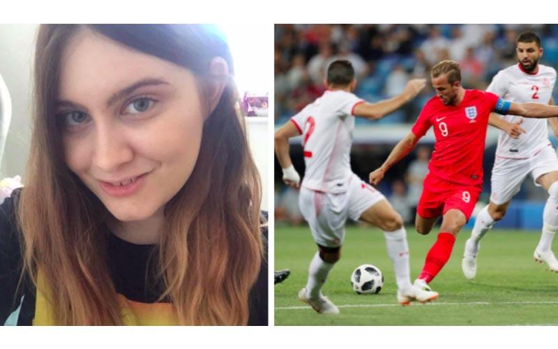 男友拜託她「實況解說世足賽」超可愛內容讓網友誇讚:最棒的偽球迷!