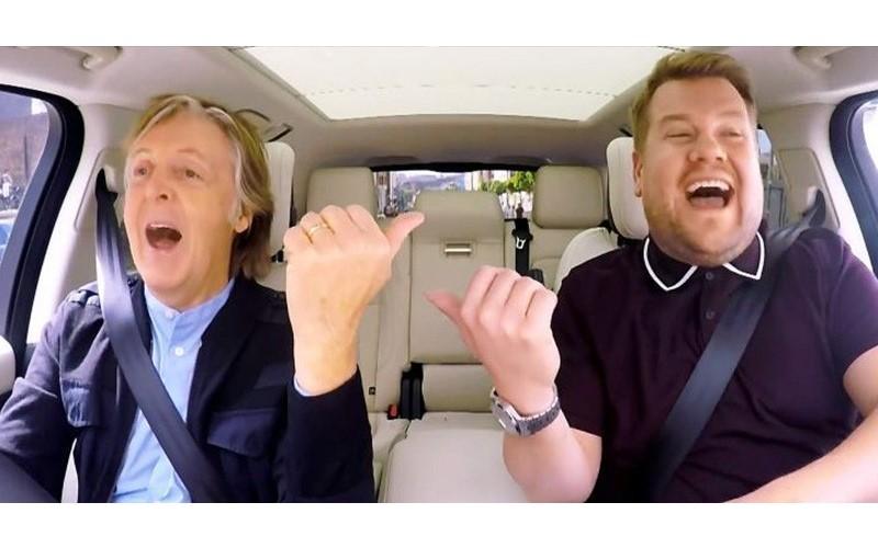 「國寶級」來賓駕到!「披頭四」保羅麥卡尼車上嗨唱「經典名曲」惹哭主持人...突襲餐廳路人嗨翻