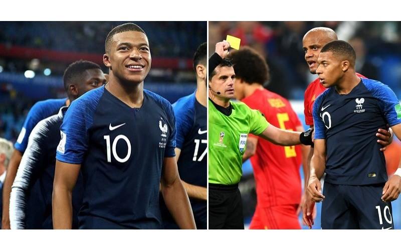 原來你是這樣的人!19歲足球天才「背後玩球拖延」法國進決賽...沒撞到卻「假摔喊痛」遭轟:屁孩