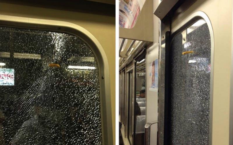網路瘋傳「薯條擊破窗戶」讓日本電車停駛…真相曝光!都是地方媽媽的錯