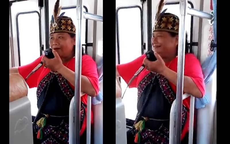 台灣原住民導遊台語超輪轉,幽默到整車旅客哈哈笑不停!