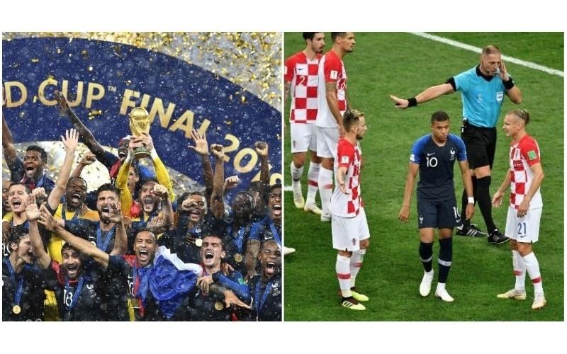 法國奪冠...各界怨聲四起批「前2球根本誤判」 自家人也看不下去:對克羅埃西亞不公平