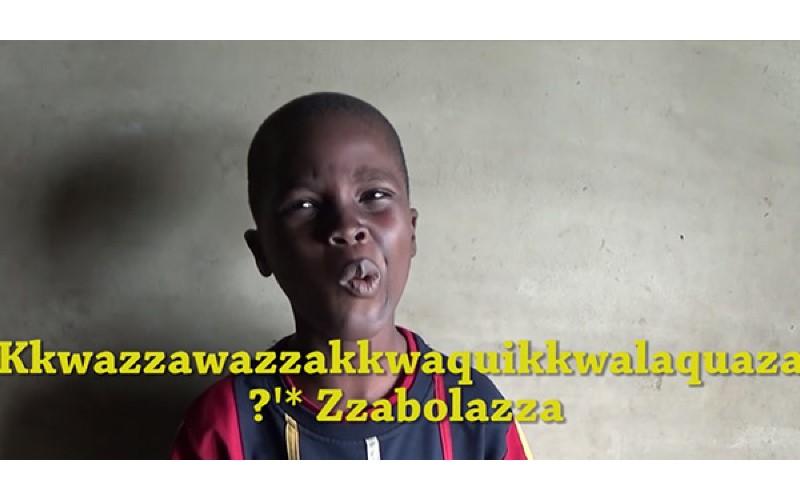 小男孩成為「名字超長非洲人」繼承人,我的名字叫Kkwazzawazzakkwaquikkwalaquaza咳…Zzabolazza