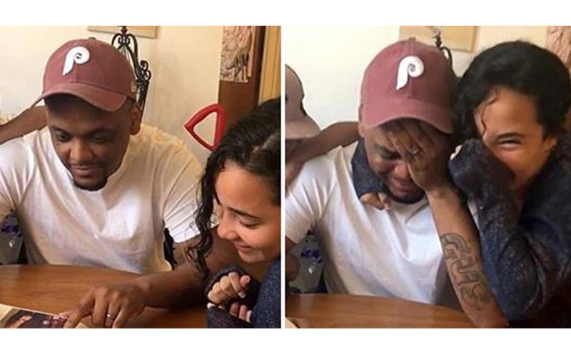 照顧10年養女手做相簿送給養父,最後一頁溫馨寫下「想領養我嗎」彼此爆哭!