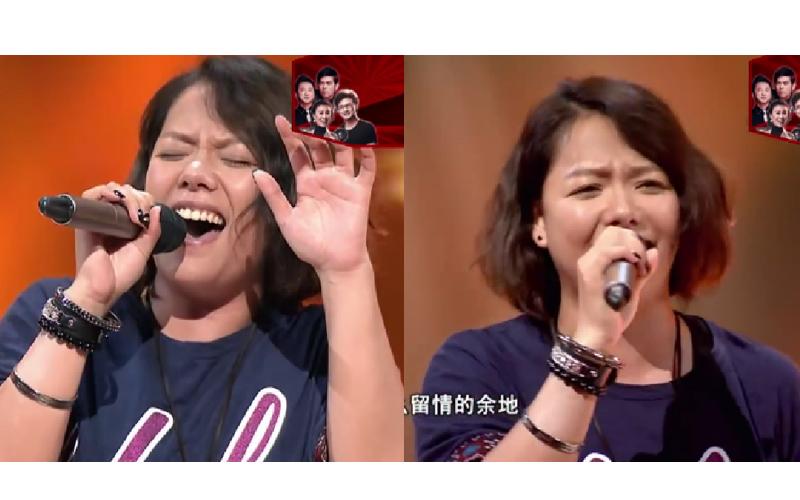 天后張惠妹親妹Saya「重返舞台夢」開口驚豔全場,想告訴子女:有夢就去追!