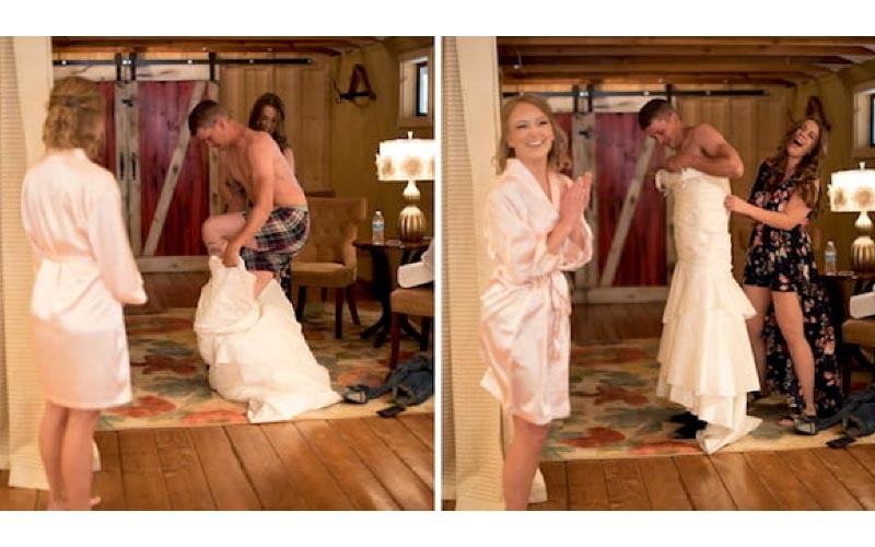 怕新郎太緊張!新娘派哥哥「先去跟他結婚」場面超爆笑