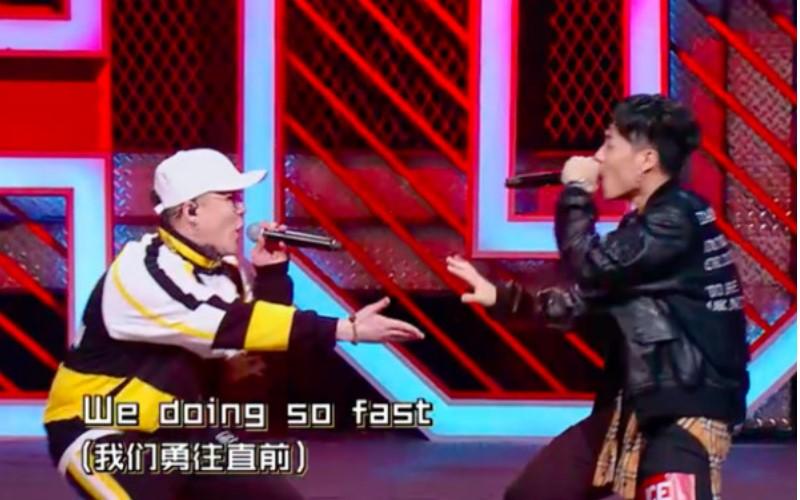 《中國新說唱》 那吾克熱VS ICE炸翻全場展現說唱硬實力!潘瑋柏都看傻:可幫我簽名嗎