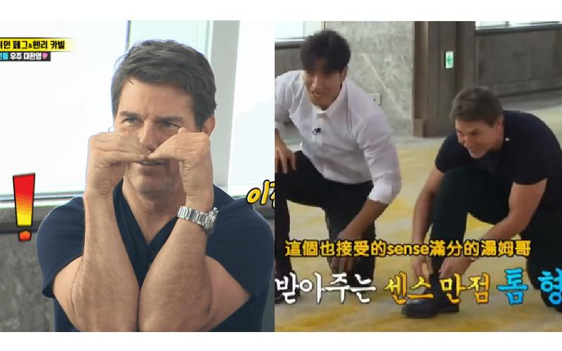 阿湯哥上RM玩High狂噴綜藝細胞!加碼放送「手肘愛心」狂吸粉!