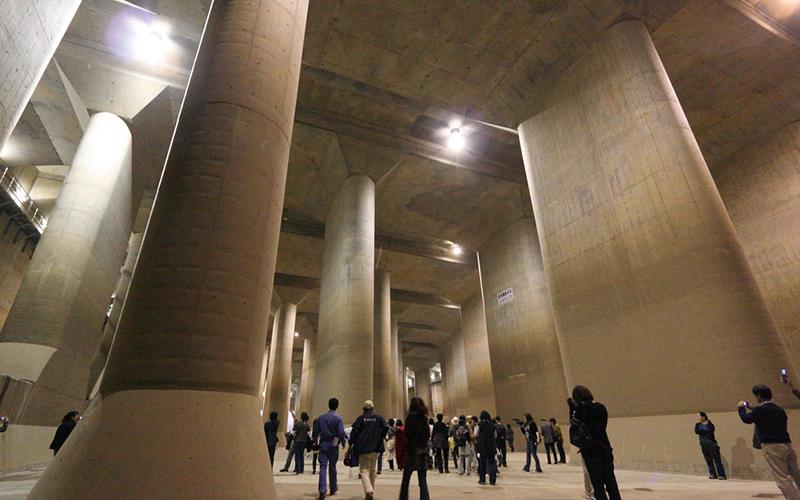 日本首都圈不淹水的秘密武器「地下神殿」8月起天天開放外國客參觀!
