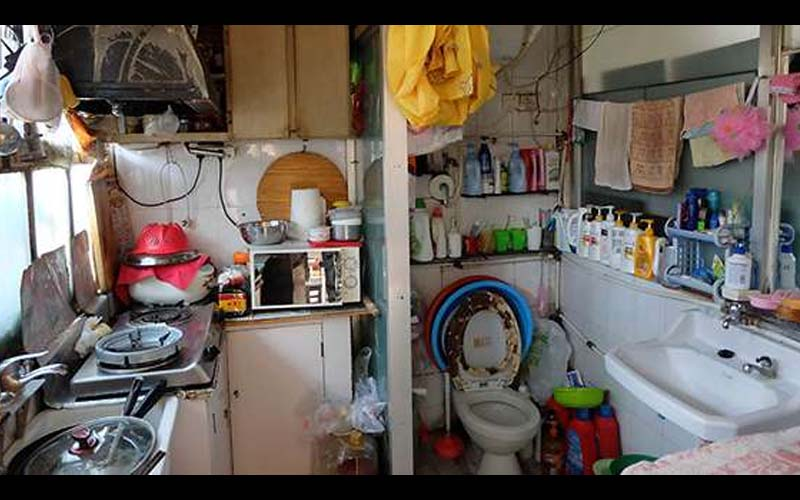 馬桶竟然在廚房裡!日本神手改造10坪老房子,看完改造成品真的太完美了!