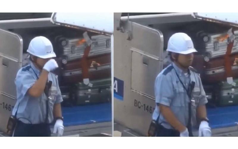 日本機場運送行李畫面曝光 地勤細心分工「尊重每一件行李」獲讚賞:這就是素質