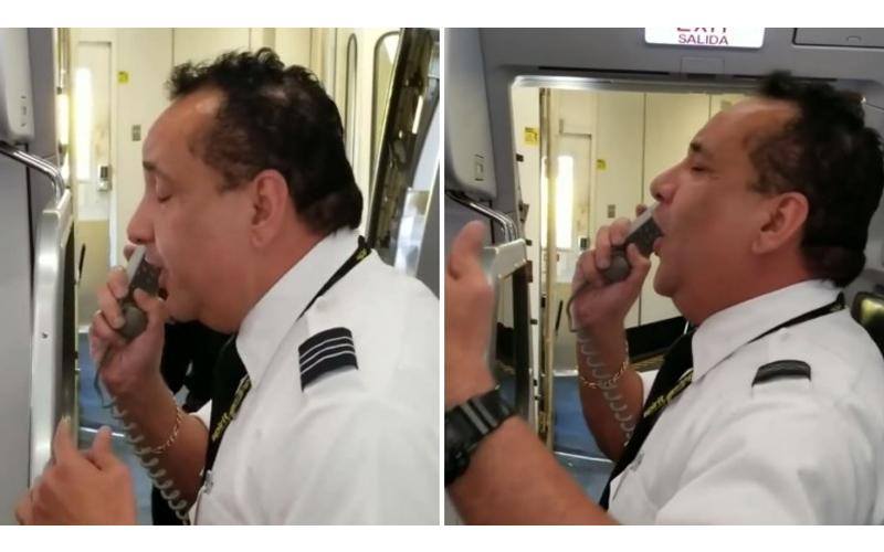10年來首次開飛機返家鄉!機長慶祝高唱一曲「磁性天籟嗓音」全機乘客歡呼讚翻!