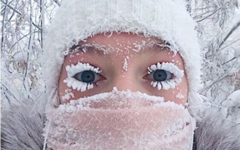 世上最冷村莊「出門睫毛就結霜」日常曝光!不畏風雪-52℃才停課