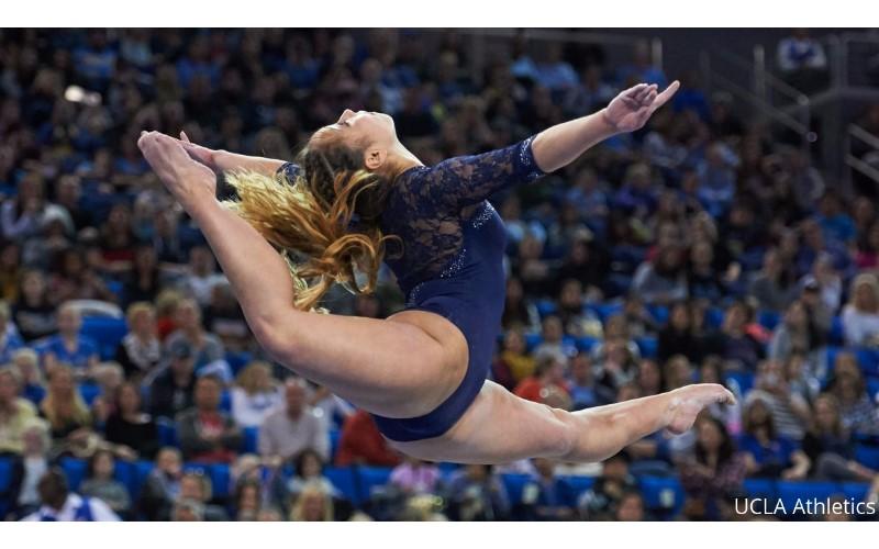 她比賽到一半「大跳偶像經典舞步」向麥克傑克森致敬!完美結合體操榮獲滿分10分