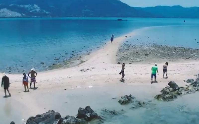 越南秘密小徑接連「人間天堂」,神奇魔幻沙灘小路映入眼簾 網友推:背包客必去景點!