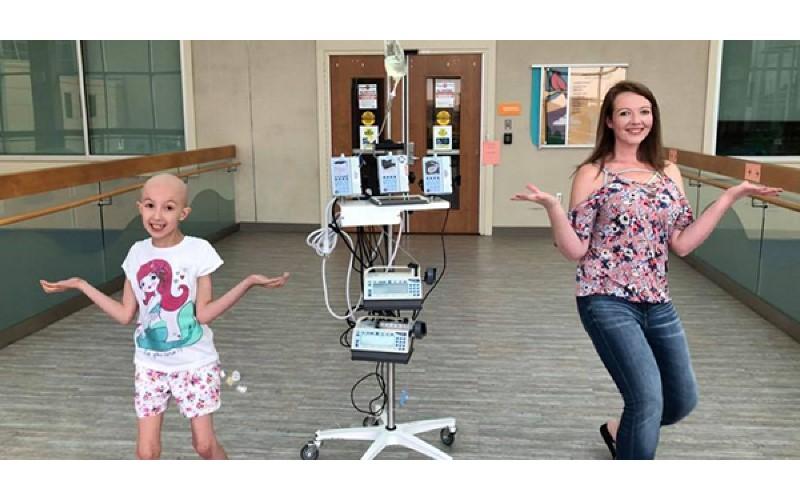 8歲重病女童跟媽媽一起跳「In My Feelings」爆紅:為這個世界勇敢抗癌!
