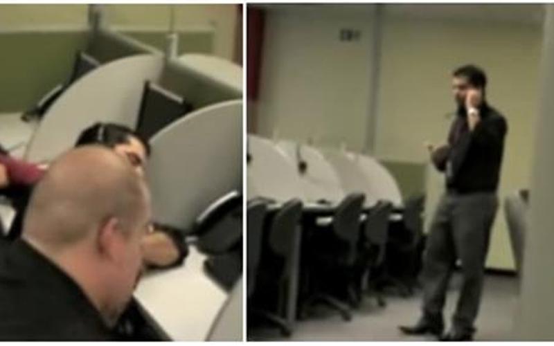男子上班偷打瞌睡慘遭惡整,醒來「同事全消失」傻眼:我睡了兩天?