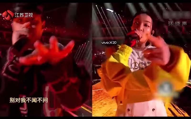 潘帥與嘻哈愛徒VAVA合唱《第三類接觸》惹得全場熱血沸騰!太精采了!