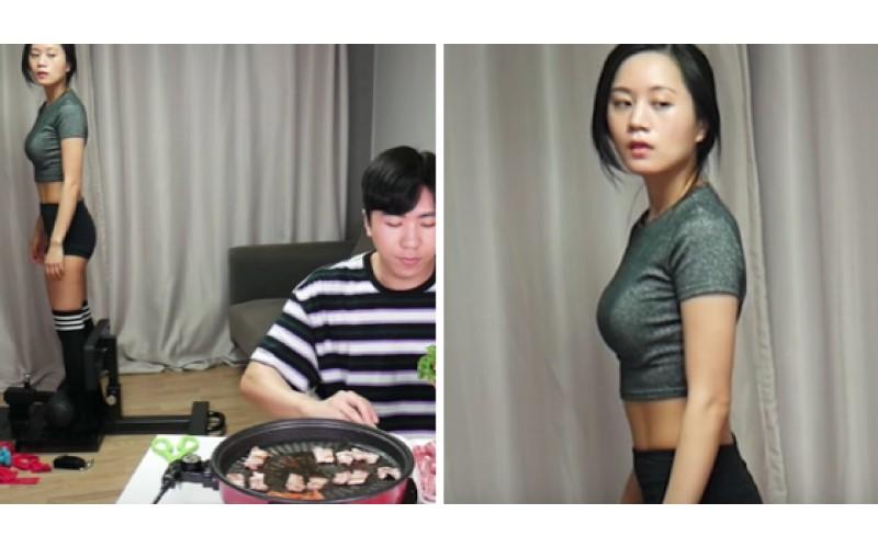 姐姐專心減肥...弟弟卻一旁大嗑五花肉 網友爆笑:太殘忍了!