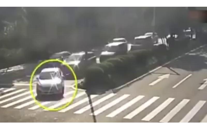 三寶無所不在! 網友:永遠不懂三寶的開車邏輯...原來只是想轉圈圈秀車技!?