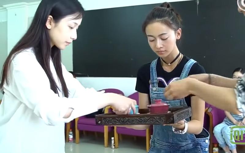 《延禧》拍攝花絮瓔珞、明玉「素顏模樣」公開 網戀愛:好美的初戀臉