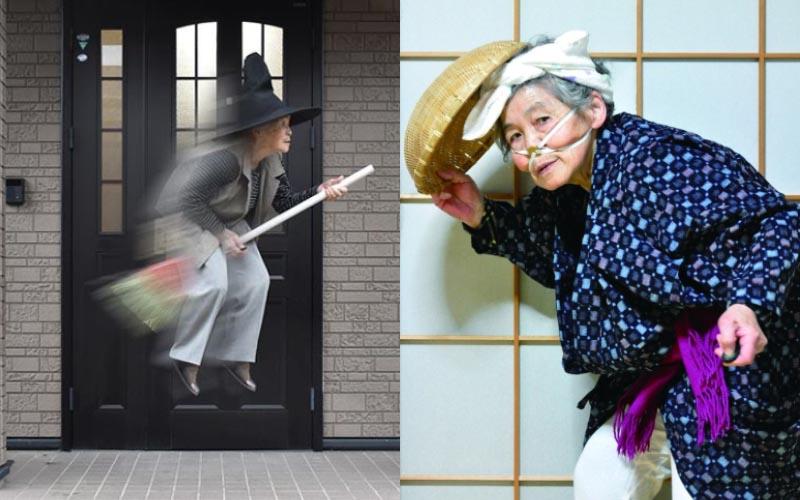 日本最老網紅!90歲阿嬤比年輕人更會玩「學攝影玩PS」還出版了攝影書!