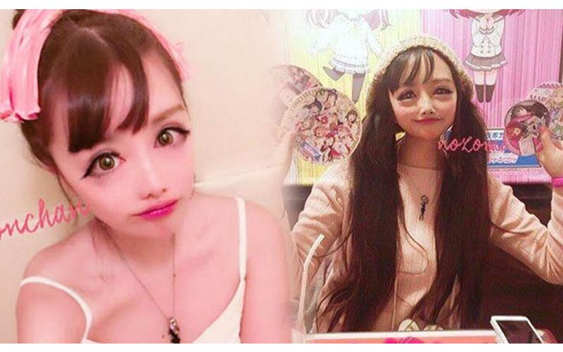 日本網路主播整上癮!連整8次變身「二次元美少女」,大眼睛尖下巴...嚇壞眾人!