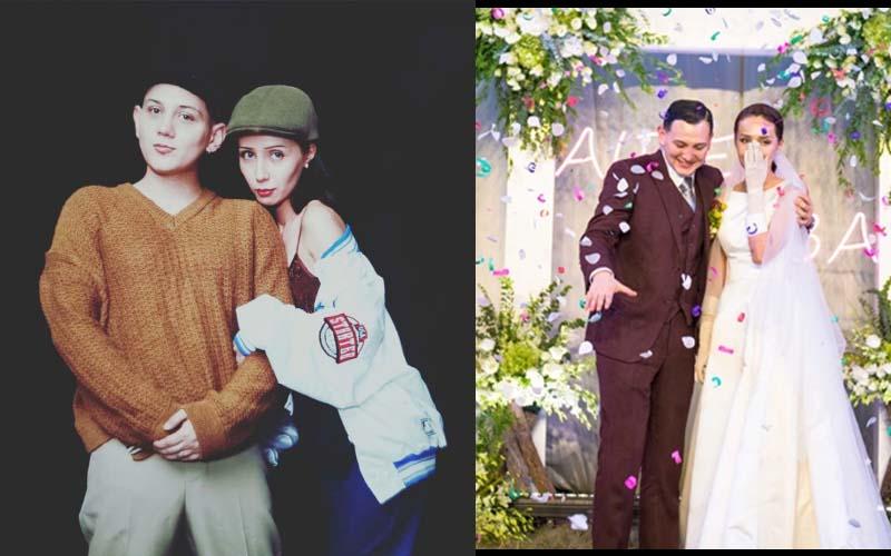 《新說唱》艾熱結婚了!他在婚禮上自彈自唱《女孩》聽哭台下親友!網:這新娘太美!
