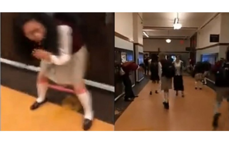 美國校園惡搞「檸檬水+瀉藥」讓女學生當場蹲在走廊噴洩…恥到爆哭!眼尖網友揭發真相(影)