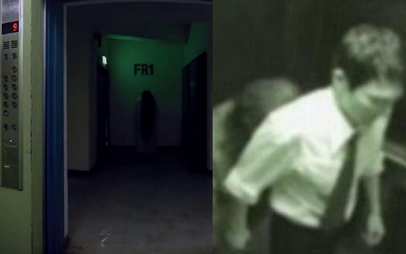 按1F的電梯卻詭異的停在B1,原以為是故障...但打開門瞬間發現自己撞鬼了!