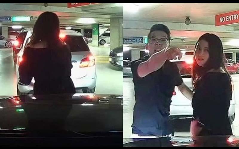 女子突然衝出來用肉身擋車,駕駛氣炸直接開車推撞「別再丟華人的臉了,屁孩!」